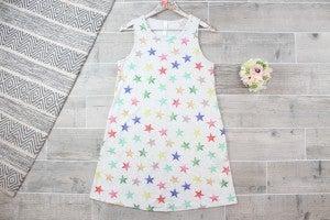 Rainbow Stars Tank Dress