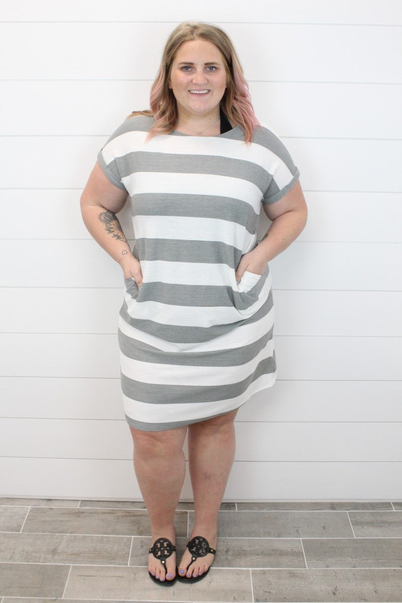 Being Bold Striped Dress