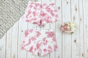 Clouds Of Pink Judy Blue Shorts