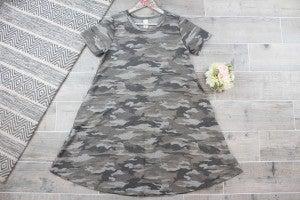 Camo Is the New Black Dress