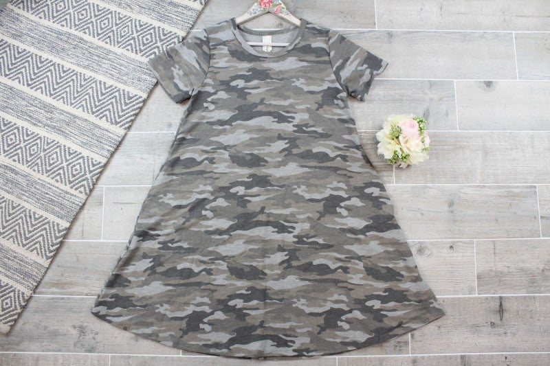 Camo Is the New Black Dress