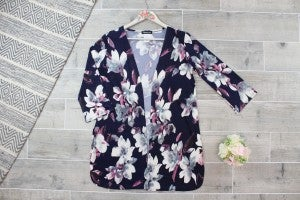 Sophisticated Floral Cardigan