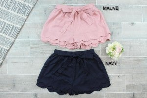 Sassy Shorts with Tie Detail