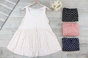 Dotted With Love Sleeveless Tank