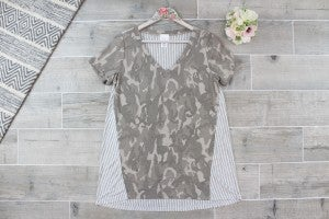 Camo In My Blood - Top