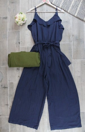 Jumping Into Date Night Jumpsuit