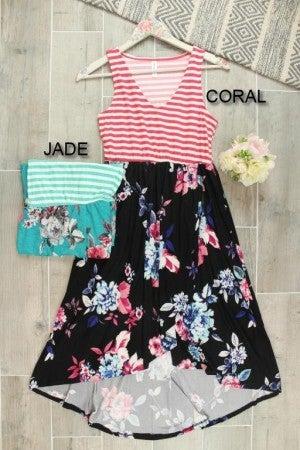 Fun and Floral Maxi Dress