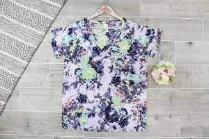 Bright And Colorful Abstract Top