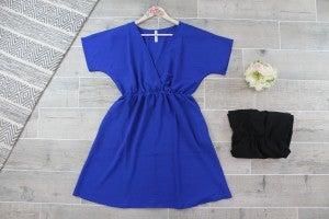 Take Me Away - Babydoll Mini Dress