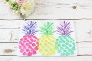 Colorful Pineapple Zipper Pouch