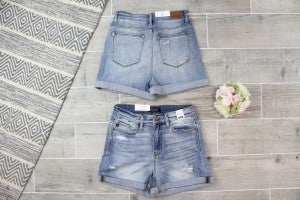 Light Wash High Rise Judy Blue Shorts