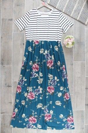 Sunday Strolls Floral Maxi