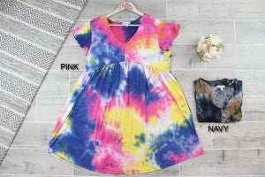 Summer Time Tie Dye Dress