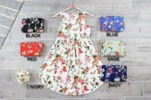 Super Cute Floral Babydoll Dress