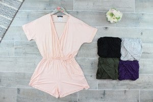 The Uptown Girl Romper