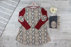 Sassy Serpent - Tunic Dress