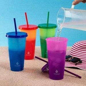 12 Pack Color Changing Tumbler