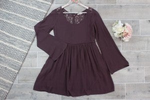 Adorable Laced Button Mini Dress