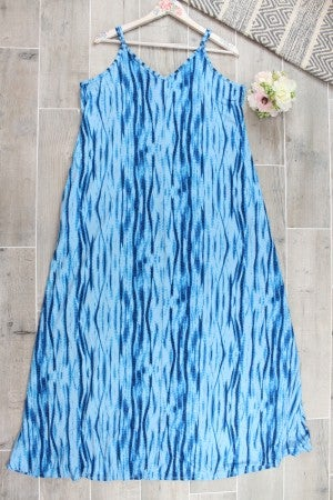Caribbean Vibes Maxi Dress