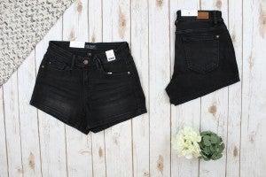 Simple Yet Sassy Black Judy Blue Shorts