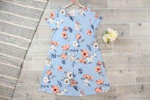 Adorable Floral Bulgari Dress with Pockets