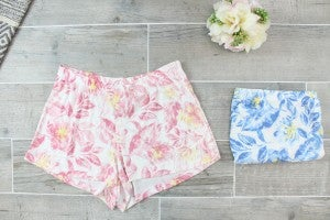 Flower Blossom Lounge Shorts