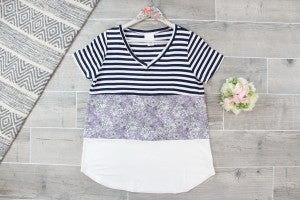 Take Me To The Flower Patch Top