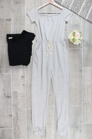 Winding  Down Lounge Jumpsuit