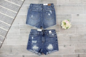Destroyed Cut Off Shorts