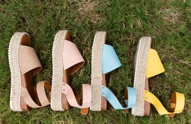 The Carly Espadrille Platforms