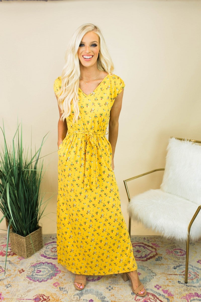The Haleigh Floral Maxi *Final Sale*