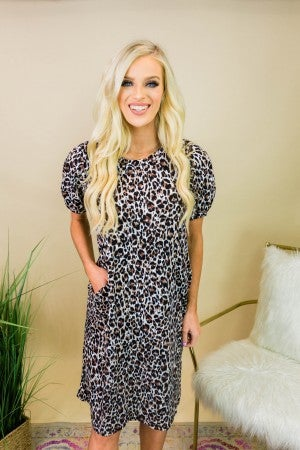 Living for Leopard Dress