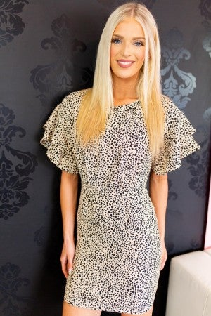 Take Me Dancing Leopard Dress