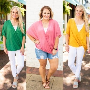 Colors of the Tropics Doorbuster Top