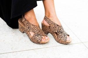 That Modern Cheetah Wedge