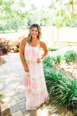Watercolor Sunrise Maxi