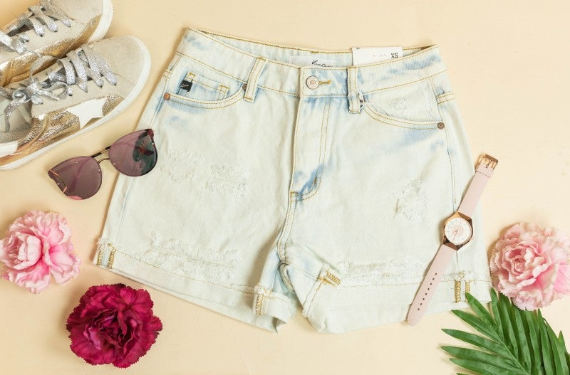 The Hazel Denim Shorts