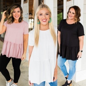 Give Me Grace Babydoll Top
