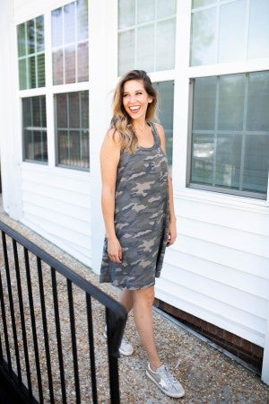 Now You See Me Camo Dress