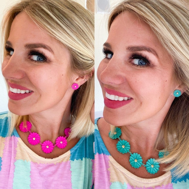 So Summer Necklace and Earring Set