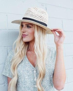 Beyond Words Panama Hat *Final Sale*