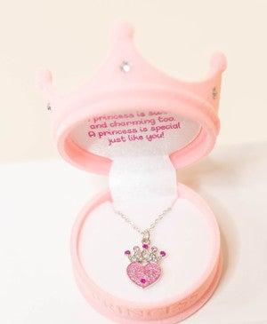 Princess Crown Necklace *Final Sale*