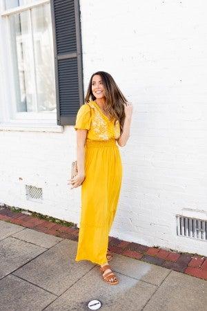 A Little Pop of Sunshine Dress