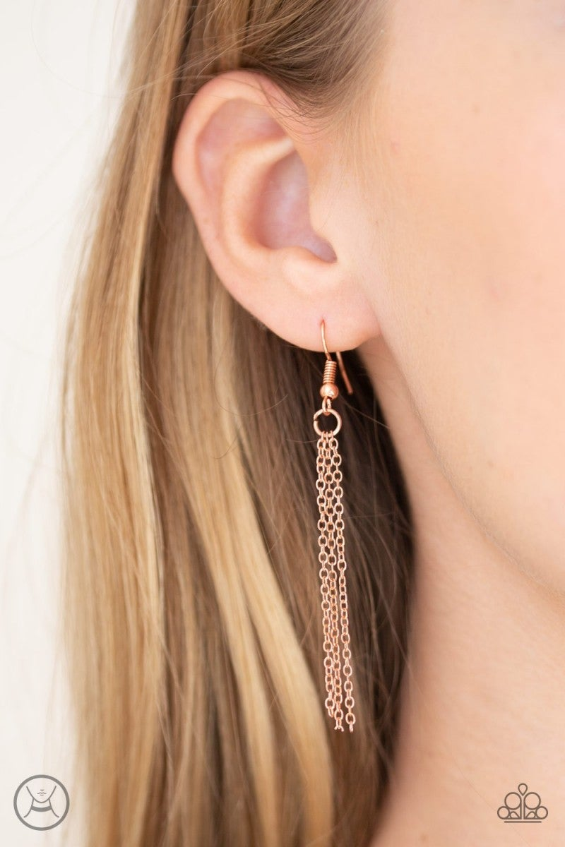 Mini Minimalist - Copper Choker Necklace