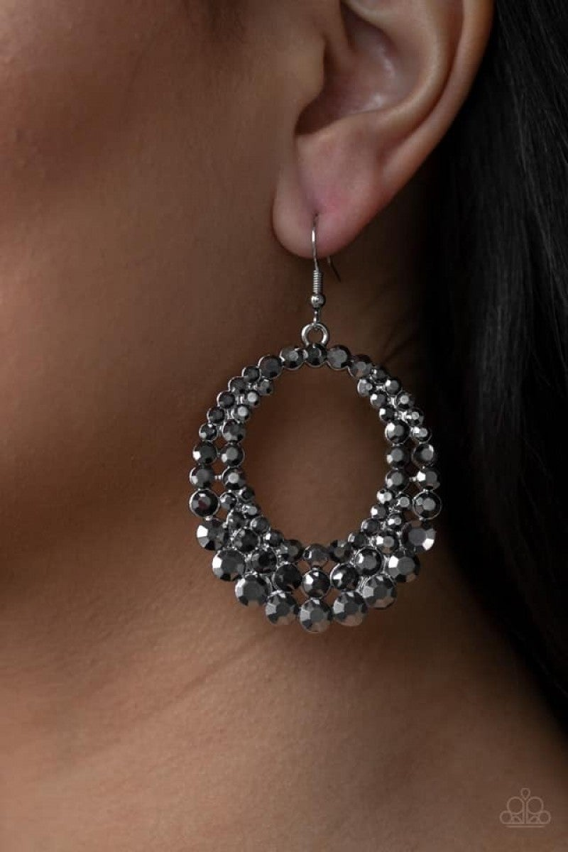 Universal Shimmer - Silver Earrings