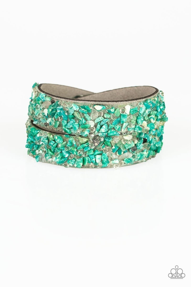 Crush To Conclusions - Green Urban Bracelet