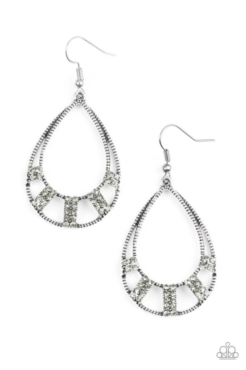 Trillion Dollar Teardrops - Silver Earrings