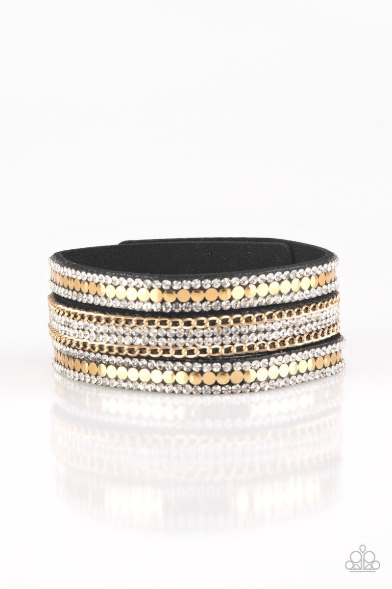 Fashion Fanatic - Gold Urban Bracelet