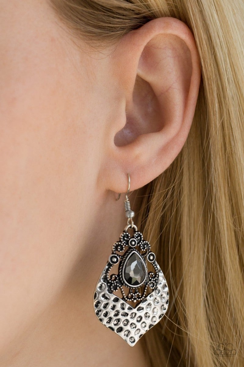 Royal Rebel - Silver Earrings