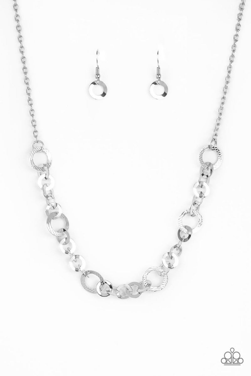 Move It On Over - Silver Necklace